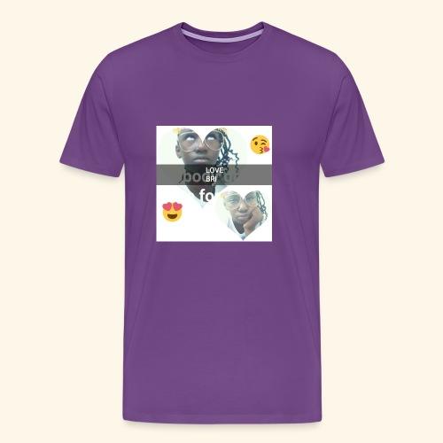 The i don't care look. - Men's Premium T-Shirt