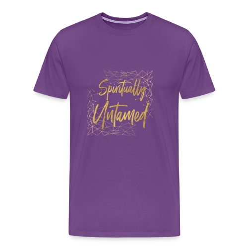 Spiritually Untamed Gold 1 - Men's Premium T-Shirt