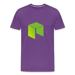 Neo Cryptocurrency logo - Men's Premium T-Shirt