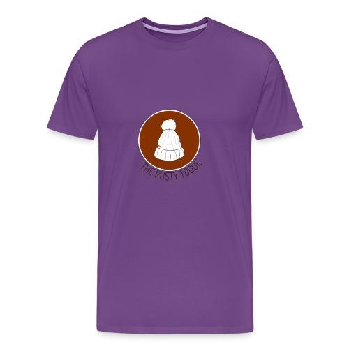 The Rusty Toque Brown Logo 2 - Men's Premium T-Shirt