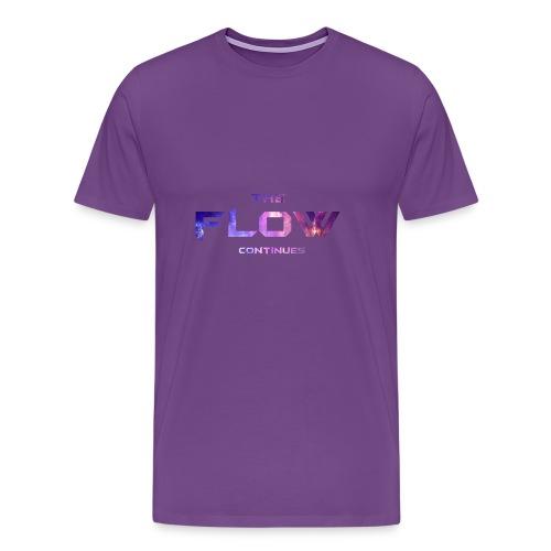 The Flow Continues Merchandise - Men's Premium T-Shirt