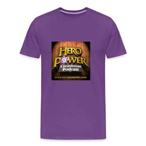 Hero Power iTunes Cover - Men's Premium T-Shirt