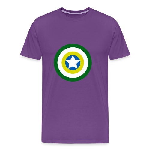Capitão America Brasil - Men's Premium T-Shirt
