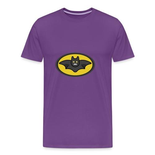 IAMBATMAN BEAM CHANNEL LOGO - Men's Premium T-Shirt