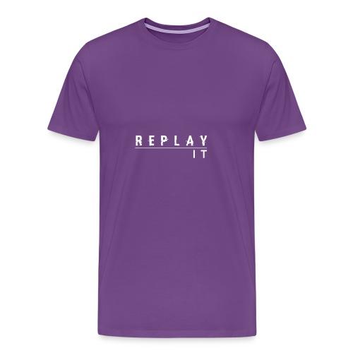 ReplayIt - Men's Premium T-Shirt