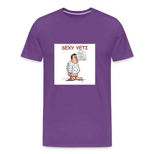 Sexy Yeti - Men's Premium T-Shirt