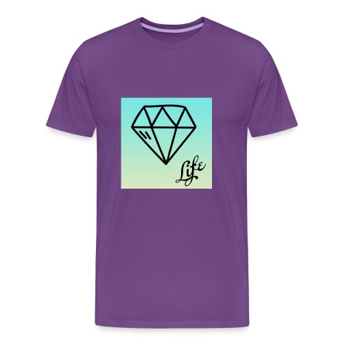 diamond life - Men's Premium T-Shirt