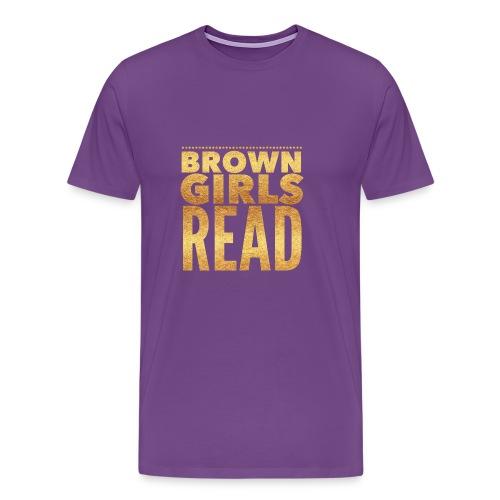Brown Girls Read - Men's Premium T-Shirt