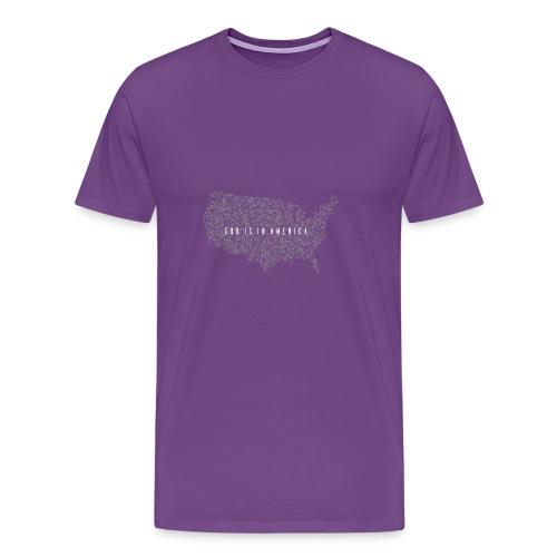 God is in America - Men's Premium T-Shirt