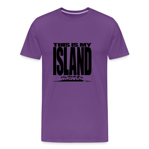 This is MY ISLAND - Men's Premium T-Shirt