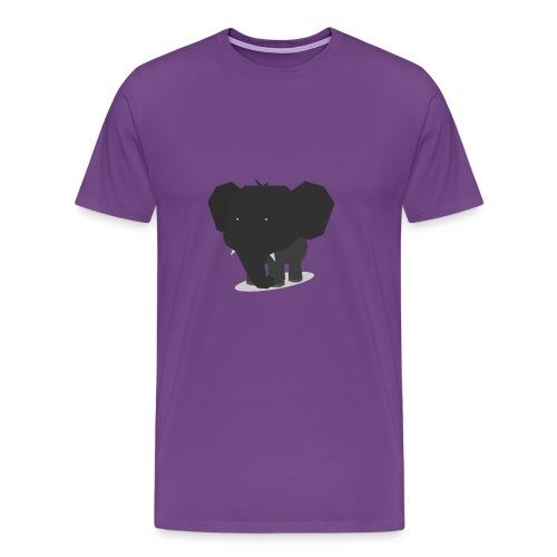 Origami Elephant Cute - Men's Premium T-Shirt