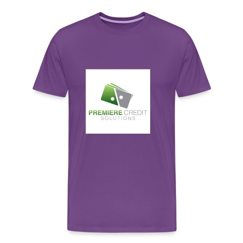 4516 Premiere Credit Solutions Logo H 02 - Men's Premium T-Shirt