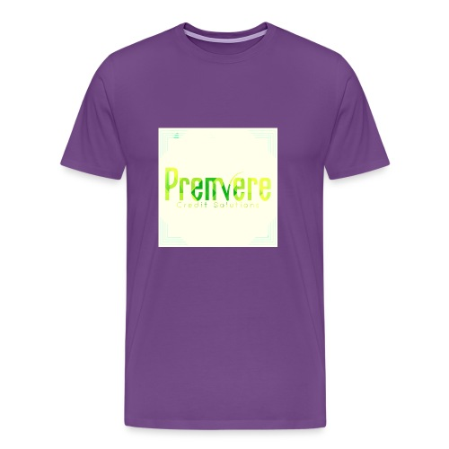 4516 Premiere Credit Solutions Logo H 01 - Men's Premium T-Shirt