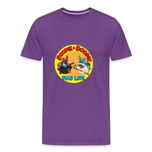 pug life pnd full - Men's Premium T-Shirt