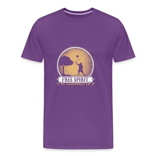 Free_spirit - Men's Premium T-Shirt