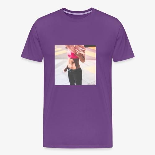 Fitness Model - Men's Premium T-Shirt