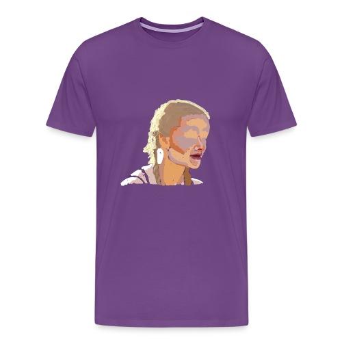 Blurred girl - Men's Premium T-Shirt