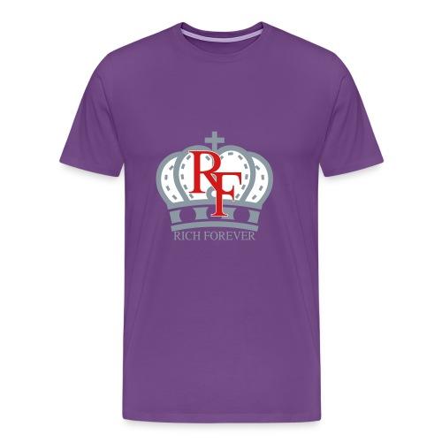 Rich forever Crown 3 5 - Men's Premium T-Shirt