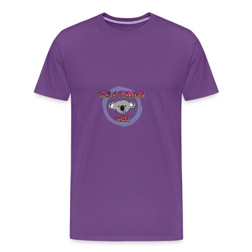 Koala Sparkle Face logo - Men's Premium T-Shirt