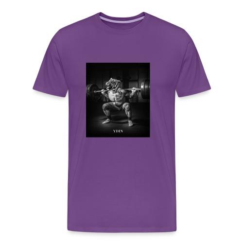SquattingTiger - Men's Premium T-Shirt
