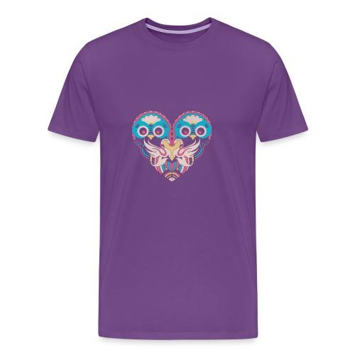 hearts of owls - Men's Premium T-Shirt