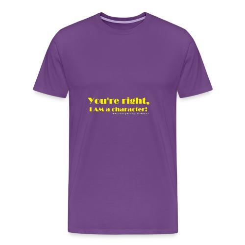 I'm a Character! - Men's Premium T-Shirt