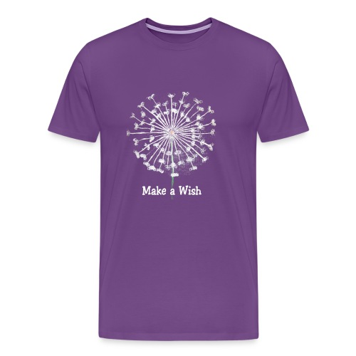 Make a Wish - Men's Premium T-Shirt