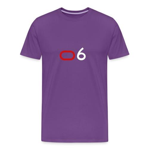 Original 6 Logo (White) - Men's Premium T-Shirt