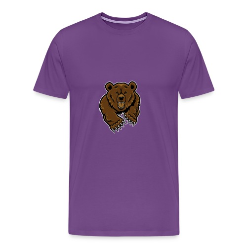Grizzly Vlogs - Men's Premium T-Shirt