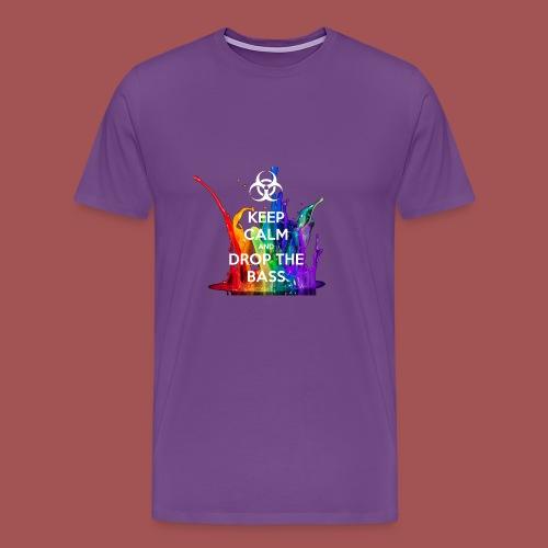 Drop The Bass - Men's Premium T-Shirt