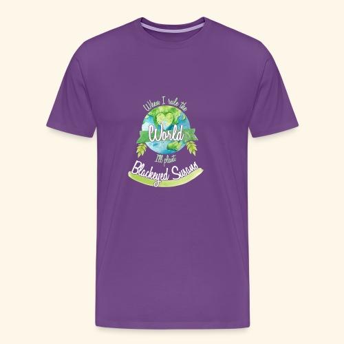 Blackeyed Susaus World Ruler - Men's Premium T-Shirt