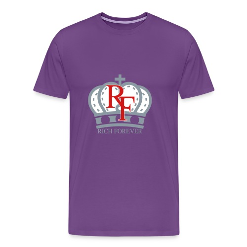 Rich forever Crown 3 5 - Men's Premium T-Shirt