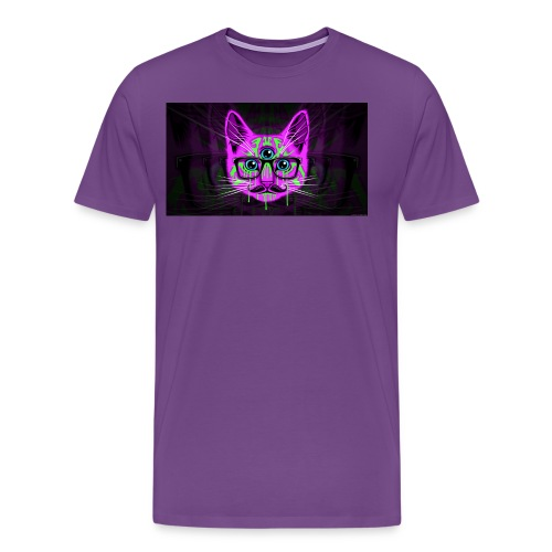 Meow Illuminati - Men's Premium T-Shirt