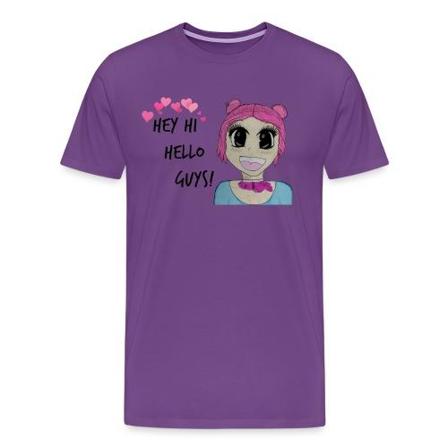 Hey Hi Hello Guys - Men's Premium T-Shirt
