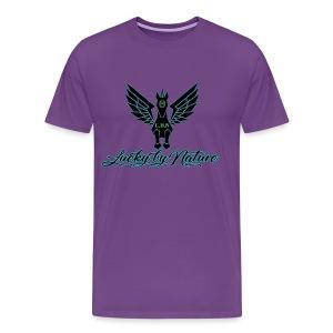 Lucky By Nature logo - Men's Premium T-Shirt