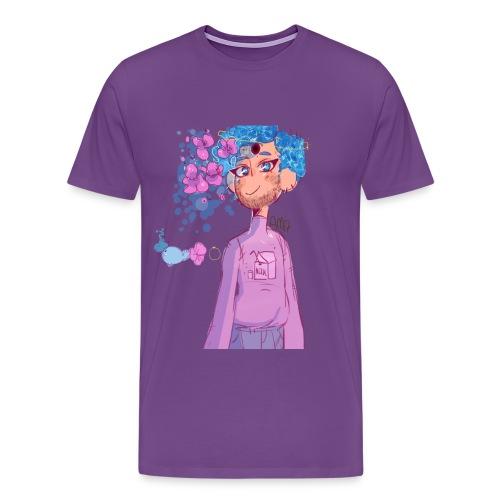 Pastel Whale Boy - Men's Premium T-Shirt