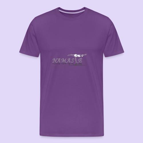Balancing Stick Namaste-light - Men's Premium T-Shirt
