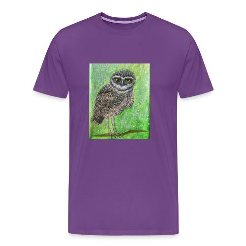 IMG 8818 Wise Owl - Men's Premium T-Shirt