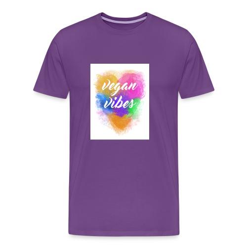 Vegan Vibes - Men's Premium T-Shirt