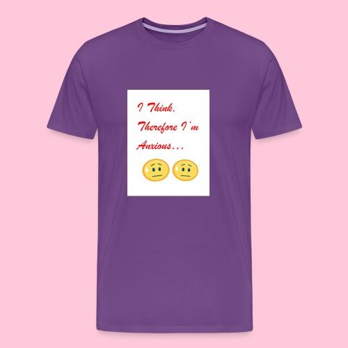 Anxious shirt - Men's Premium T-Shirt