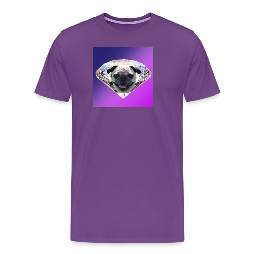 Diamond Pug - Men's Premium T-Shirt