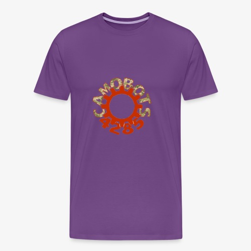 camo logo new - Men's Premium T-Shirt