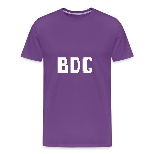 BDG 8-Bit Design White - Men's Premium T-Shirt