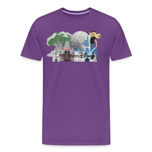 Chels Sees Disney Full Logo 1 - Men's Premium T-Shirt