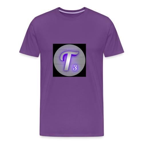 Black T3 - Men's Premium T-Shirt