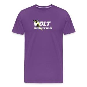 VOLT Robotics White Logo - Men's Premium T-Shirt
