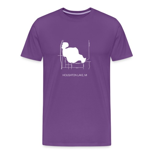 Houghton Lake, MI - Men's Premium T-Shirt