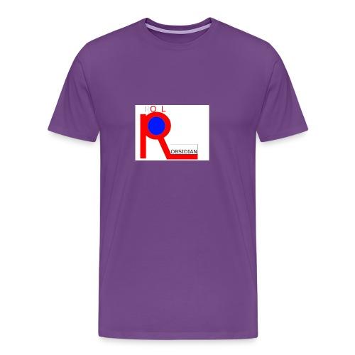 ROLL_OBSIDIAN - Men's Premium T-Shirt