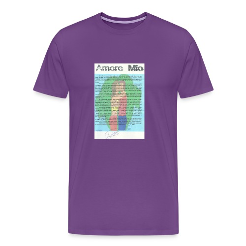 amor 003 - Men's Premium T-Shirt