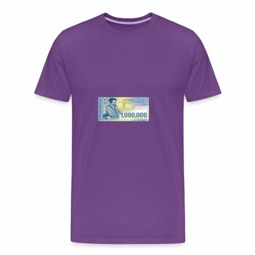 Québec 1million dollars bill - Men's Premium T-Shirt